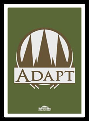 back of adapt card
